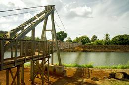 hanapepe swinging bridge , LUZCEL T - January 2017