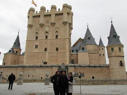Alcazar in Segovia , JANNINE R - February 2017