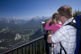 Amazing views of the Canadian Rockies , BrewsterCanada - April 2012