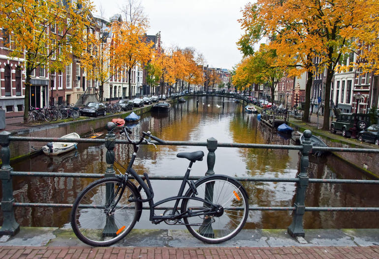 Bike in Amsterdam - Amsterdam
