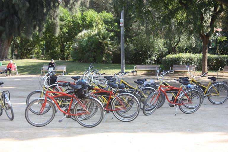 Bikes, Barcelona bike tour - Barcelona