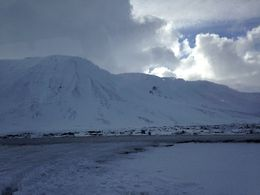 from which the lava fields were created 2000 years ago. , laughsalot0579 - March 2015