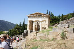 One of the treasuries from Delphi, restored. , cab0118 - July 2011