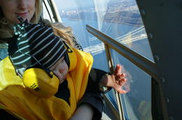 Me and my baby boy enjoying the view! , Natalie B - December 2010