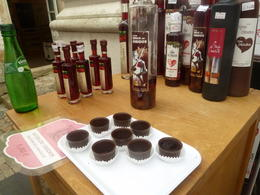You should not miss to drink the Cherry Liquor. And eat the chocolate cup after! , Patrick S - September 2014