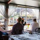 Exclusivo de Viator: cena de 3 platos con champán en el puerto deportivo de París, Paris, FRANCIA