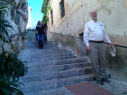 Be ready to climb the stairs of Eze. But it is worth the climb. , Boris G - September 2015