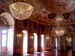 Pièce de réception du Palais de Queluz , Hélène H - June 2014
