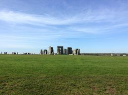 A distant look at Stonehenge. , Sharon M - April 2016