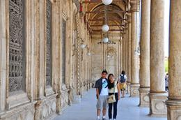 Gene and Khia inside the Alabaster Mosque..., Genesis A - May 2010