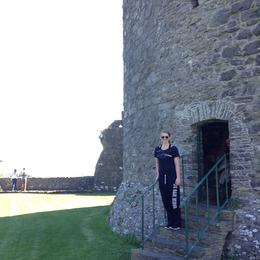 Walking around and exploring a castle, 1100 AD , cindycoburn - June 2014