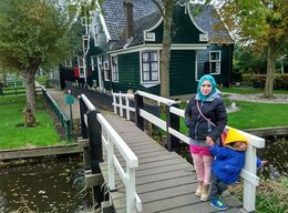 beautiful scenery at zaanse schans , NUR FARHANA J - November 2015