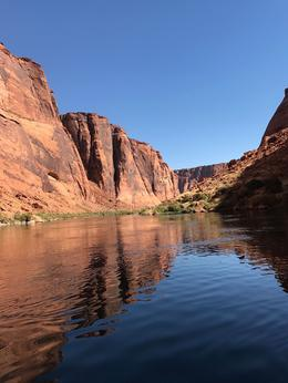 view from the Colorado river tour , queale - October 2017