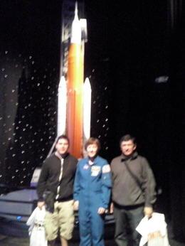 Un encuentro fantástico con la astronauta Wendy Lawrence , Daniel V - November 2017