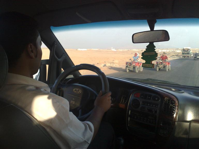 As we get there, others already started! - Sharm el Sheikh
