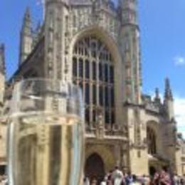 Lovely lunch in Bath after tour of Stonehenge , Bonnie M - June 2014