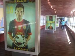 Barça's museum exit, Rosane - August 2013