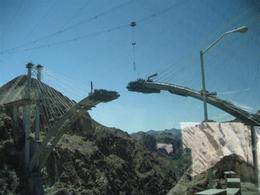 Construction of the Dam Bridge - June 2009