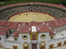 A perfect bullring, with perfect mini-matadors. - September 2009