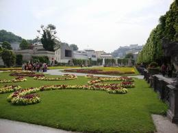 This is the famous garden where Maria von Trapp and the kids from movie 'Sound of Music' were singing (Mirabell Gardens) - May 2011