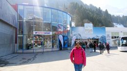 Starting for Mt. Titlis, Lucerne , Vijay - April 2016