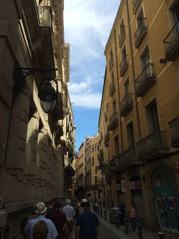 These lanes have such cool stories about Barcelona's past and it's people. , Chandan M - July 2016