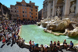 Trevi Fountain, Jeff - July 2013