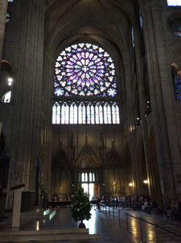 Breathtaking stained-glass construction , Ronny a B - July 2015