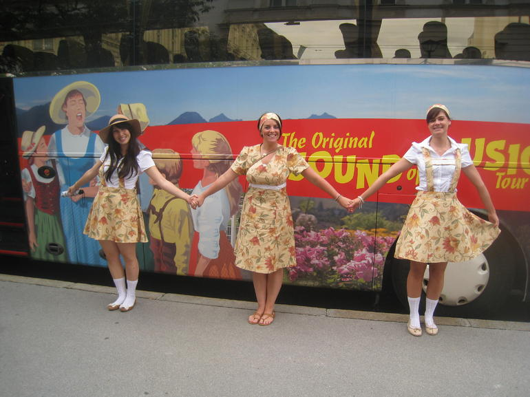 Sound of Music Tour Bus - Salzburg