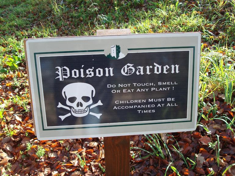 Blarney Castle - Poison Garden - Dublin