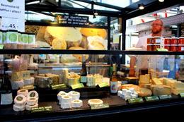 Cheese Tasting Counter - September 2013