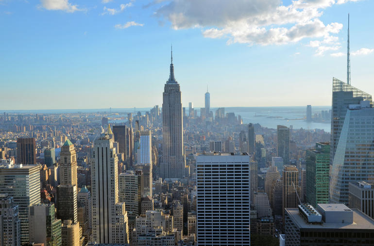 Empire State from Top of the Rock - New York City