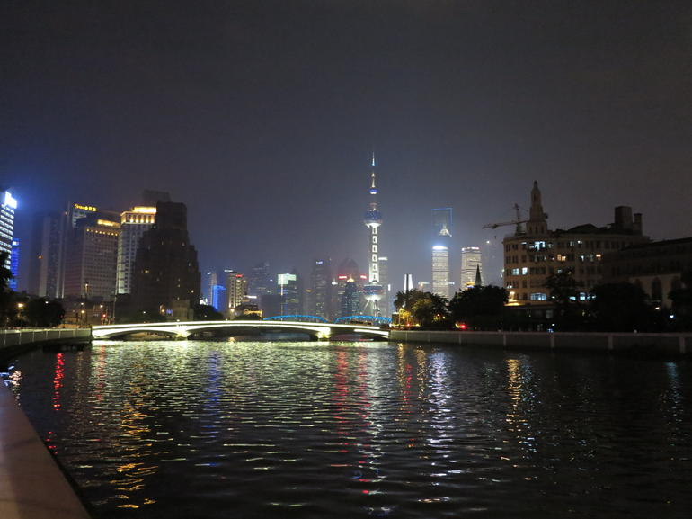 Huangpu River and The Bund - Shanghai