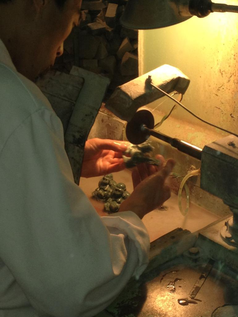 Jade making - Beijing