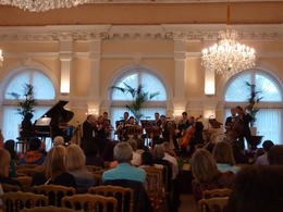 Watching a Johann Strauss and Mozart Concert at the Kursalon in Vienna , Toni T - July 2014