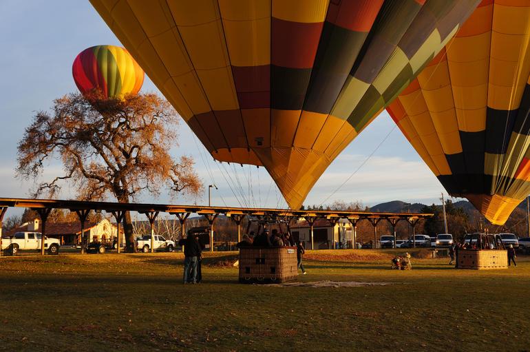 Napa Valley balloon flight - Napa & Sonoma