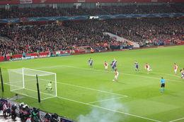 Arsenal taking a penalty kick (and scoring!), Bandit - November 2014