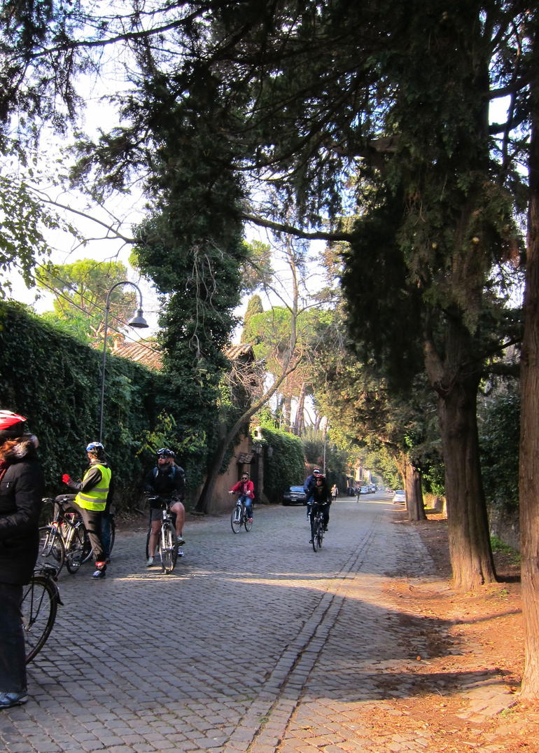 Riding on the Appian Way. - Rome