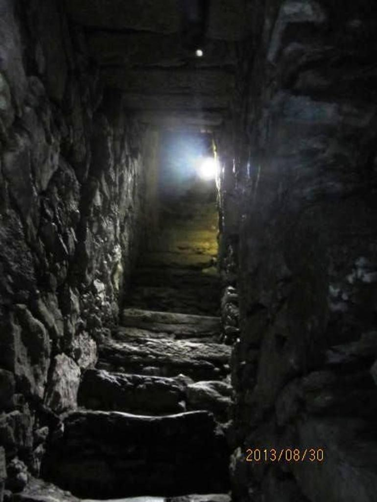 stairs at Blarney Castle - Dublin