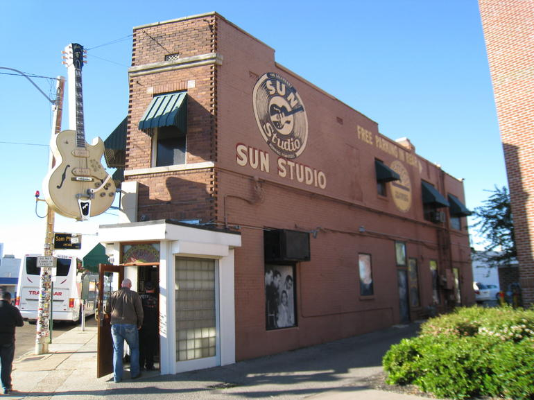 Sun Studio on 706 Union Street in Memphis TN - Memphis