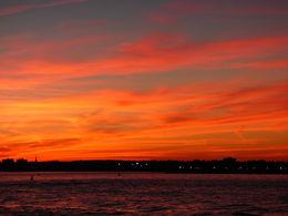 Sunset over New York City Sept 2015 , Clive S - September 2015