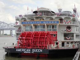 Docked at Riverwalk, before departure , Lourdes S - June 2012