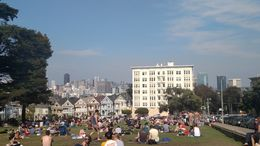 At Alamo Square, Emily G - August 2015