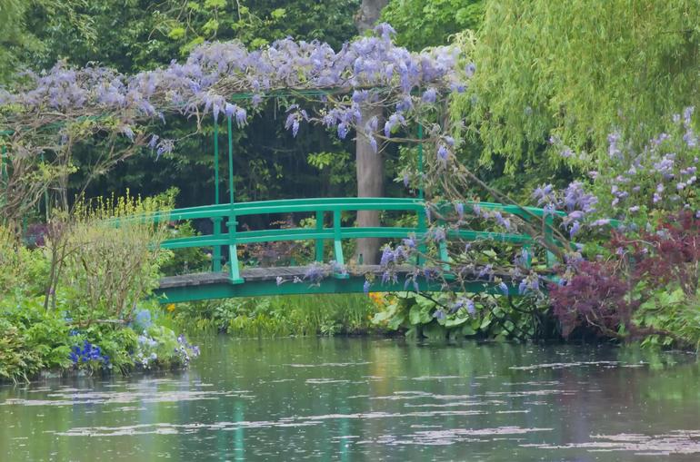 The Japanese Footbridge in Monet's Gardens - Paris