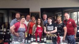 Tour Group with Anna, the host, ensuring we tasted the best wines , Joan F - June 2016