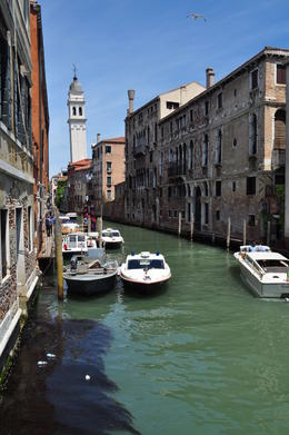 One of the many beautiful canals of Venice , tonymichelle922 - June 2011