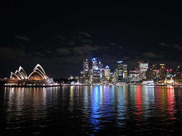 View of the city from a Viator Cruise - Sydney