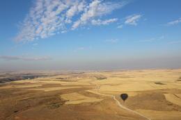Montado en el globo a medida que viajamos por el aire , V.B - September 2016