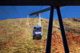 Passing Cable Car on the way up! , deehartman0263 - October 2016