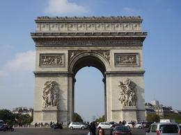 Arc de Triomphe , Ericka B - June 2017